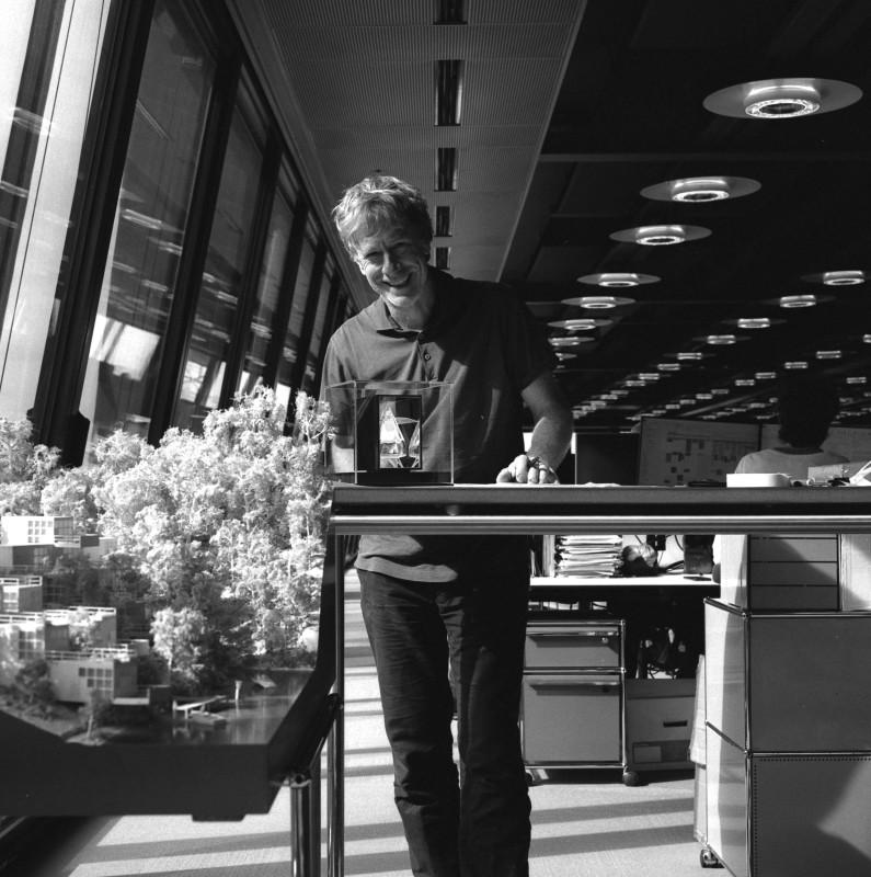 Ivan Harbour (Rogers Stirk Harbour + Partners) Small Size 28x28cm Hand printed on archival fibre based paper (paper size 30.5x30.5cm) Price: £120 Large Size 100x100cm Printed on dibond with aluminium sub frame Price: £500 Inquiries: danfontanelli@gmail.com Portrait Credit Dan Fontanelli for Cure3