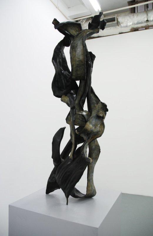 Untitled (ii), 2013, Bronze, 85 x 27 x 24 cm. Edition of 3 + 1 AP
