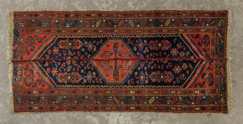 Nazgol Ansarinia, Mendings Carpet, 2010