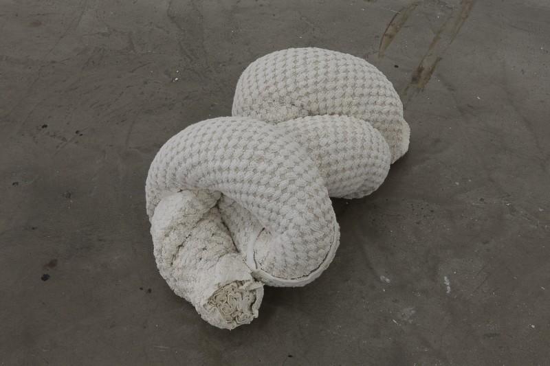 Towel Snake (Beige), 2018