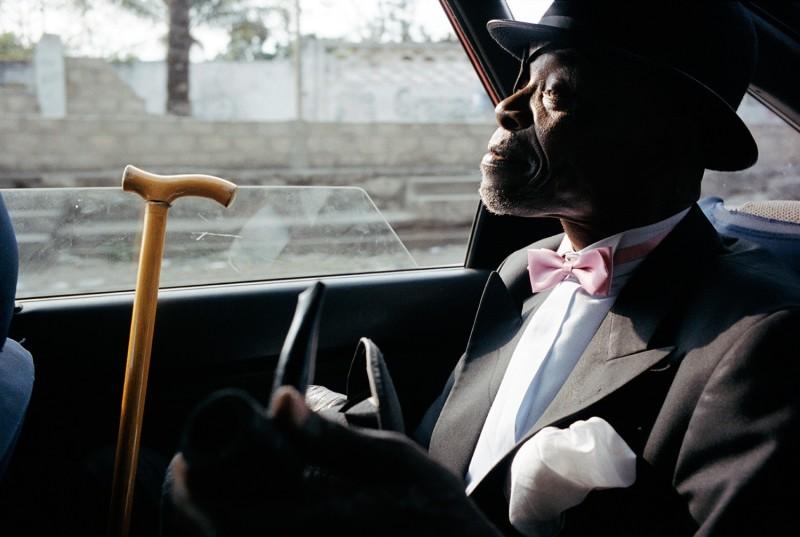 LE PARISIEN KIBOBA IN A TAXI