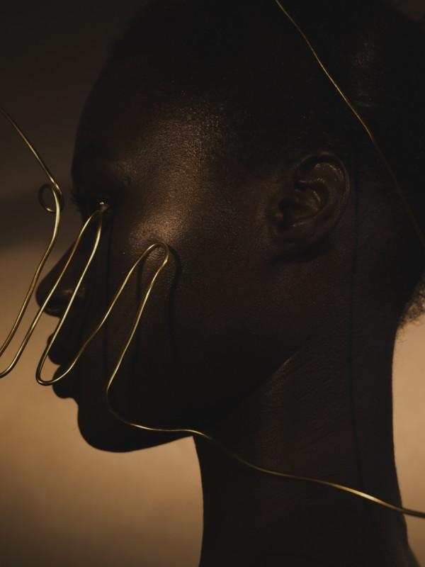 DJENEBA ADUAYOM, BLACK GOLD # 6, 2018