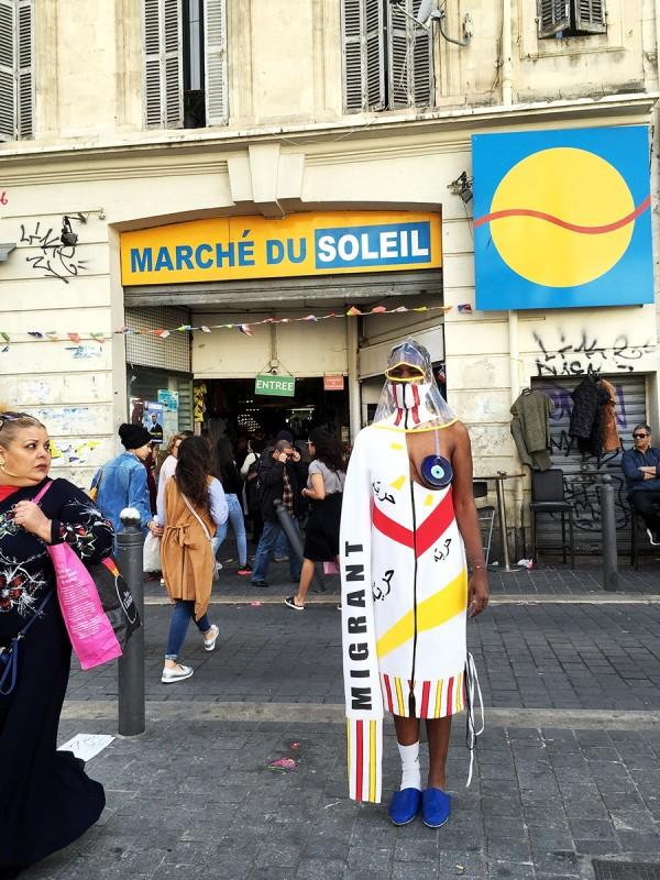 SAMIA ZIADI, Marché du Soleil, 2017