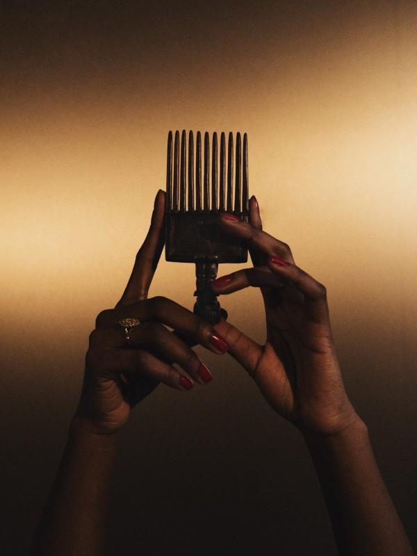 DJENEBA ADUAYOM, BLACK GOLD #8, 2018