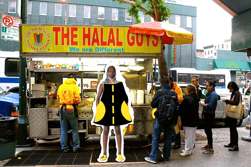 SAMIA ZIADI, The Halal Guys, 2017