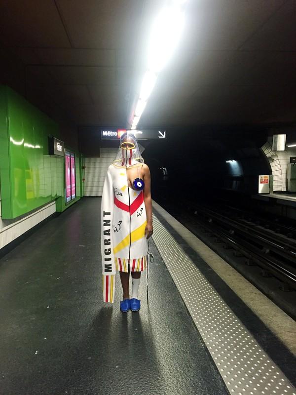 SAMIA ZIADI, Metro Illegal, 2017