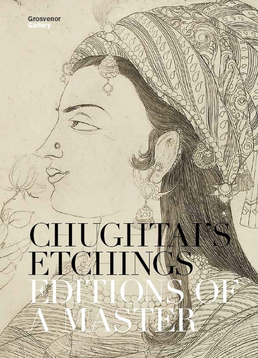 Chughtai's Etchings, Editions of a Master