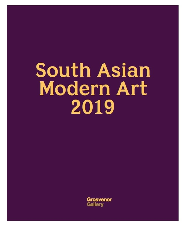 South Asian Modern Art 2019, Including the Olga Bogroff Collection of works by Ram Kumar