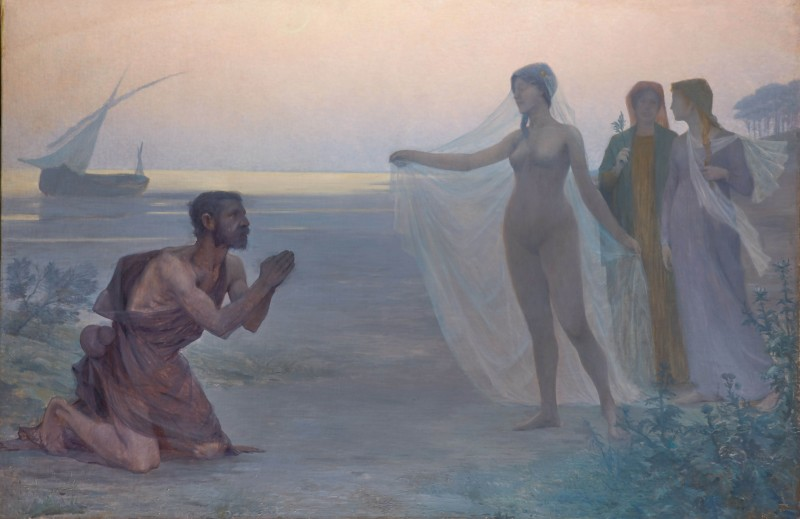 Victor Brugairolles, Le Berger et la Mer (The Shepherd and the Sea), 1895