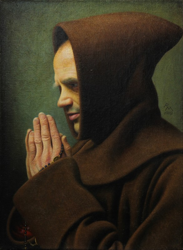 Richard Müller, Praying Monk