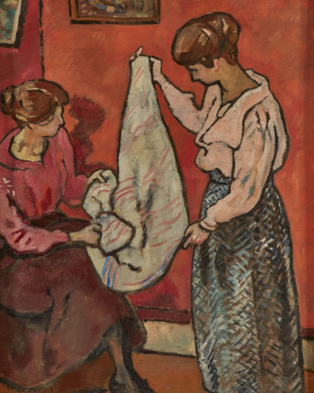 Louis Valtat, Les Couturieres (The Dressmakers), 1918