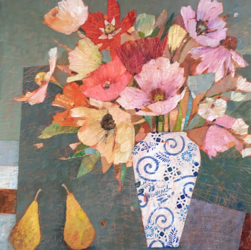 Sally Anne Fitter Vanessa`s table 30 x 30 ins £1,245
