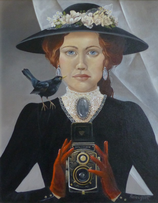 Rosie Lippett The Photographer 20 x 16 ins £1500