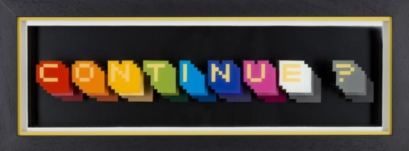 Static: Continue? Multi-Colour