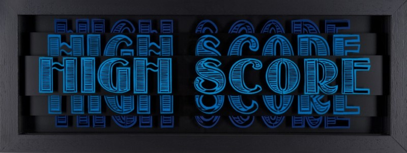 Static: Highscore- Black & Blue