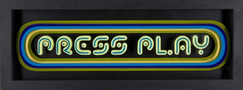 Static: Press Play - Yellow & Blue