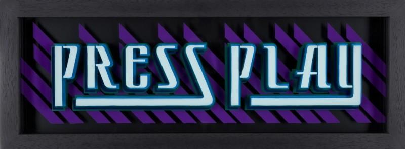 Static: Press Play - Blue & Purple