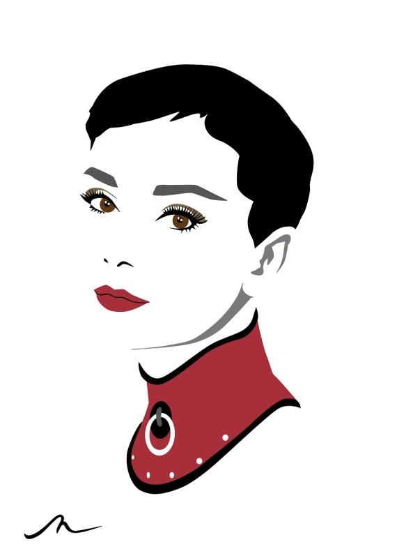 Michelle Mildenhall: Miss Hepburn