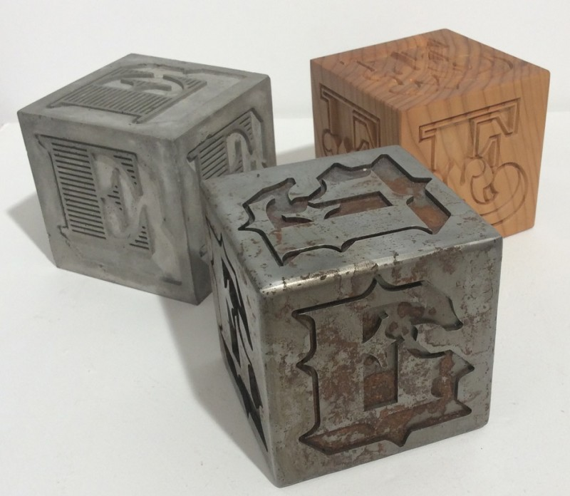 Ben Eine, Cubes