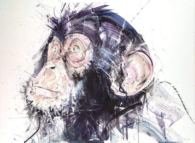 Dave White, Chimp III XL, 2017