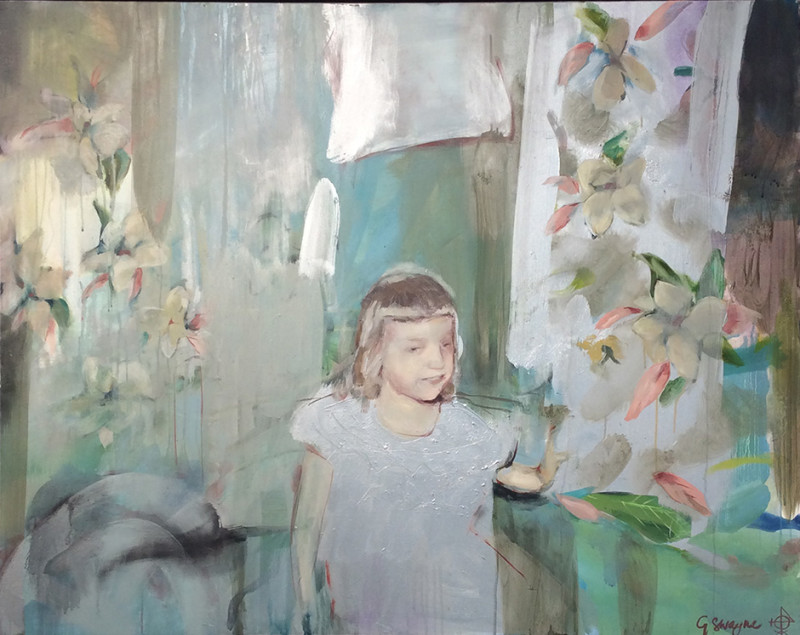 Geraldine Swayne, Lydia as a Baby (Silver)