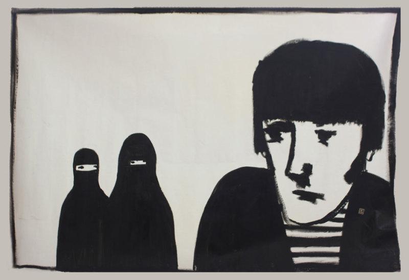 Noah Taylor, Untitled Canvas 2014