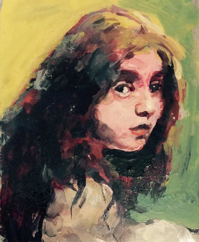 Geraldine Swayne, Girl with Auburn Hair