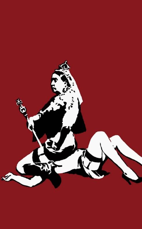 Banksy, Queen Victoria