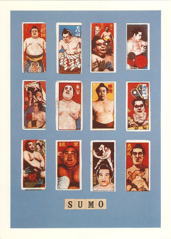 Peter Blake, S is for Sumo