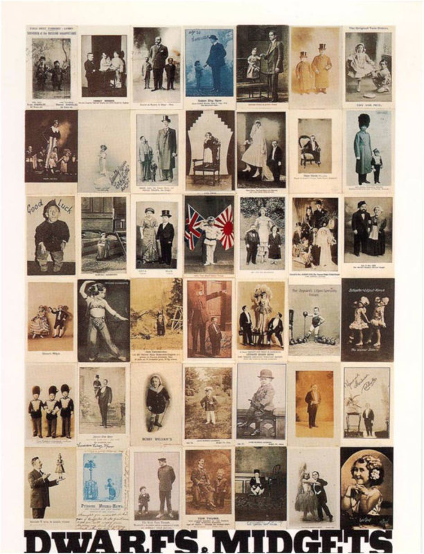 Peter Blake, D is for Dwarves and Midgets