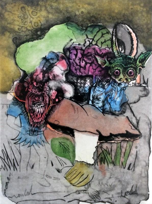 Jake & Dinos Chapman, Untitled VII, Bedtime Tales for Sleepless Nights series