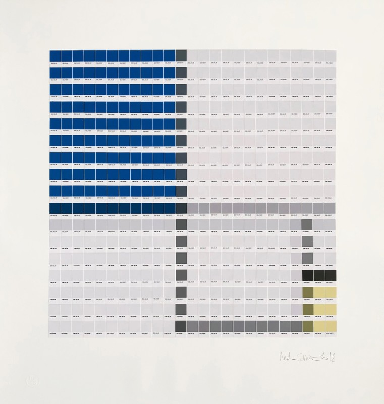 Nick Smith, Mondrian - Composition No. II, 2018