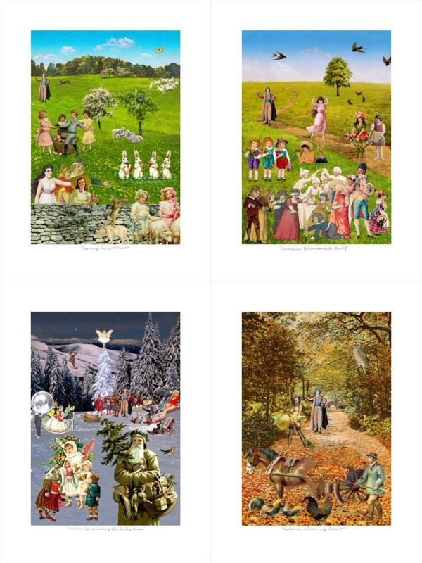 Peter Blake, Four Seasons Portfolio, 2017