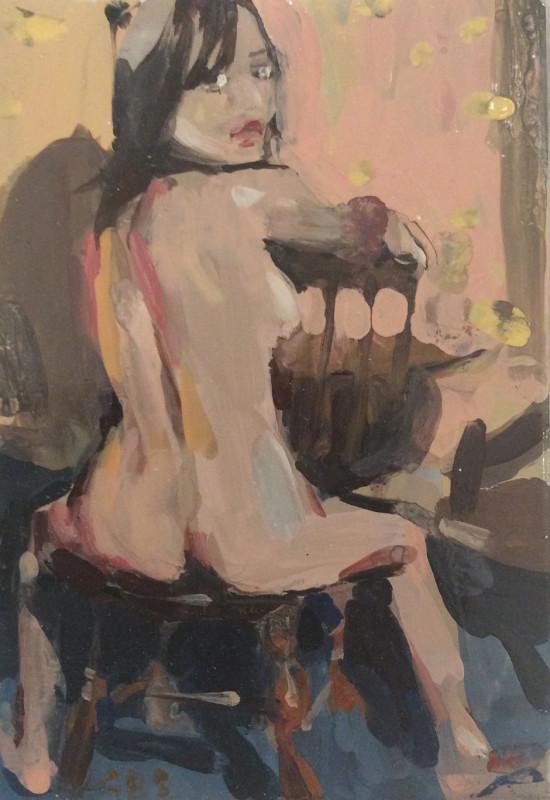 Geraldine Swayne, Seated Nude