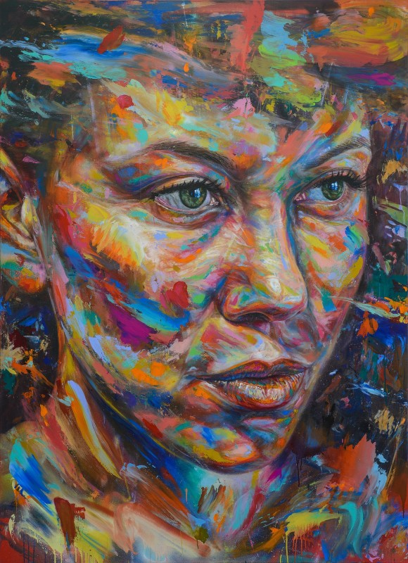 David Walker, The Sun Stares Back, 2017