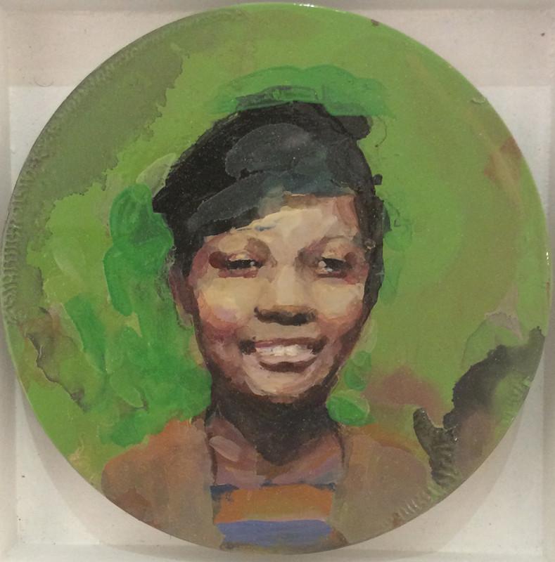 Geraldine Swayne, Smiling Girl in a Black Hat