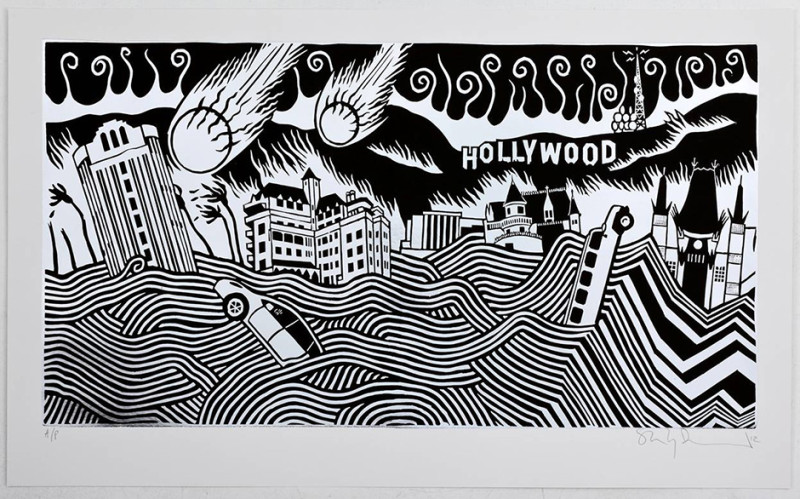 Stanley Donwood, Hollywood Limousine