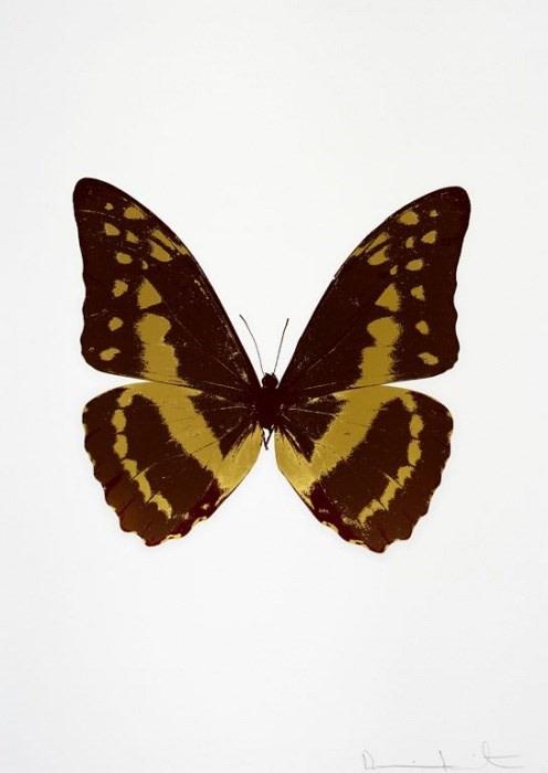 Damien Hirst, Souls III- Chocolate/Oriental/Gold/Burgundy