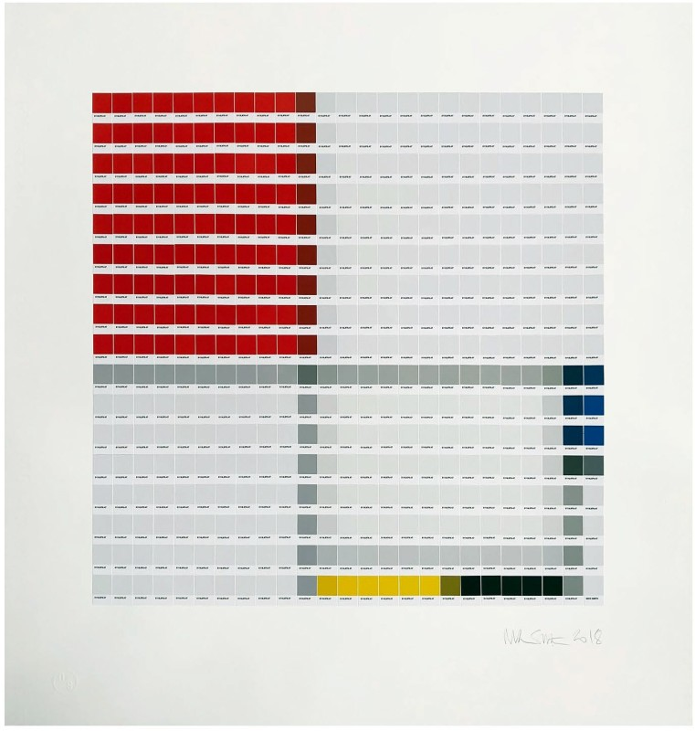 Nick Smith, Mondrian - Composition No. III, 2018