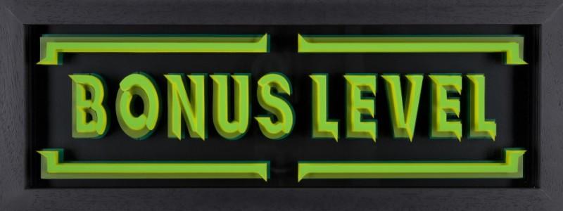 Static, Bonus Level- Green & Yellow