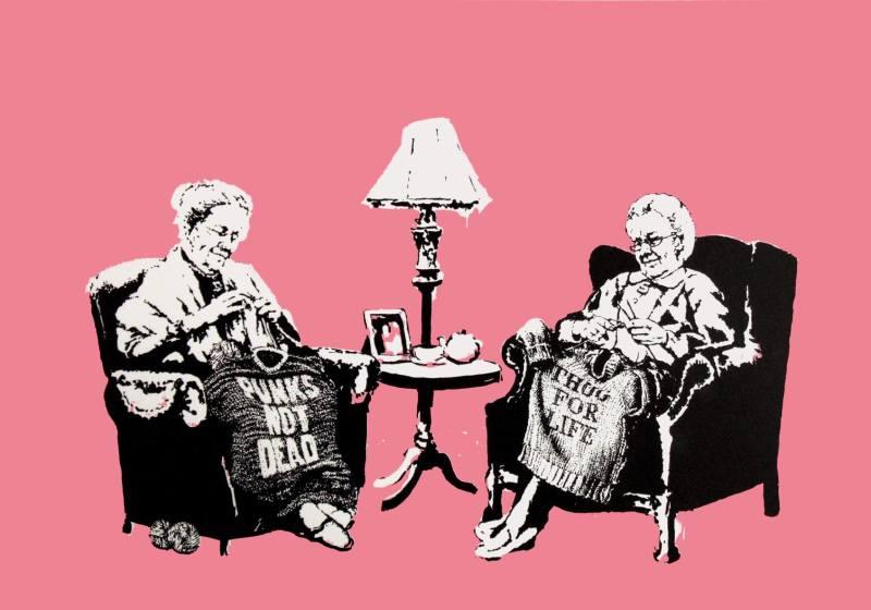 Banksy, Grannies