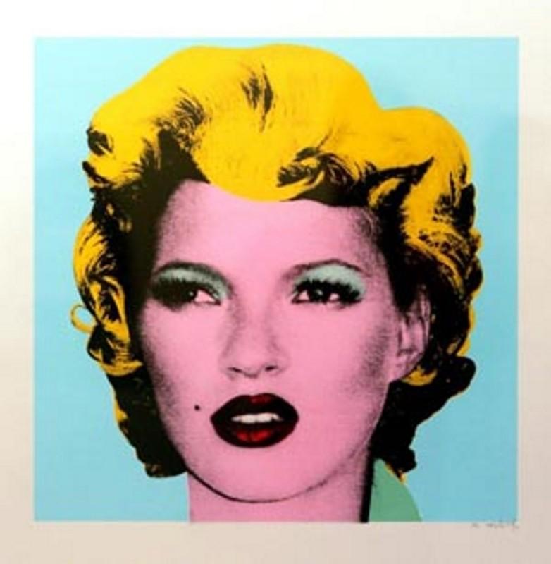 Banksy, Kate Moss