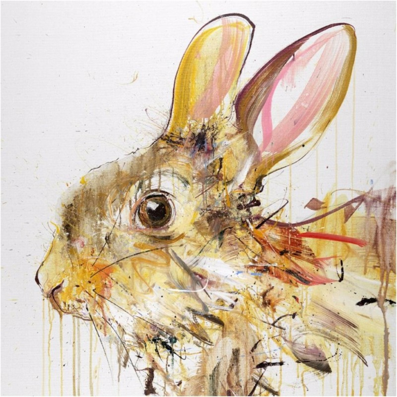 Dave White, Rabbit V Gold Leaf