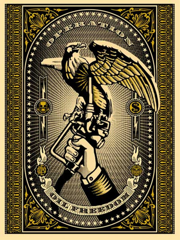 Shepard Fairey (OBEY), Operation Oil Freedom