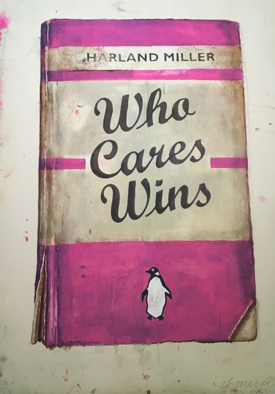 Harland Miller, Who Cares Wins (Liberty)