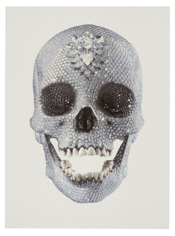 Damien Hirst, For the Love of God- White