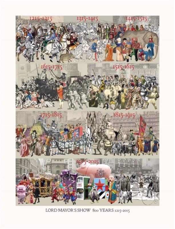 Peter Blake, Lord Mayor's Show 800 Years 1215-2015
