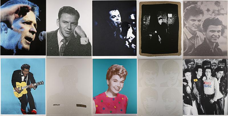 Peter Blake, Love Portfolio of 10 prints