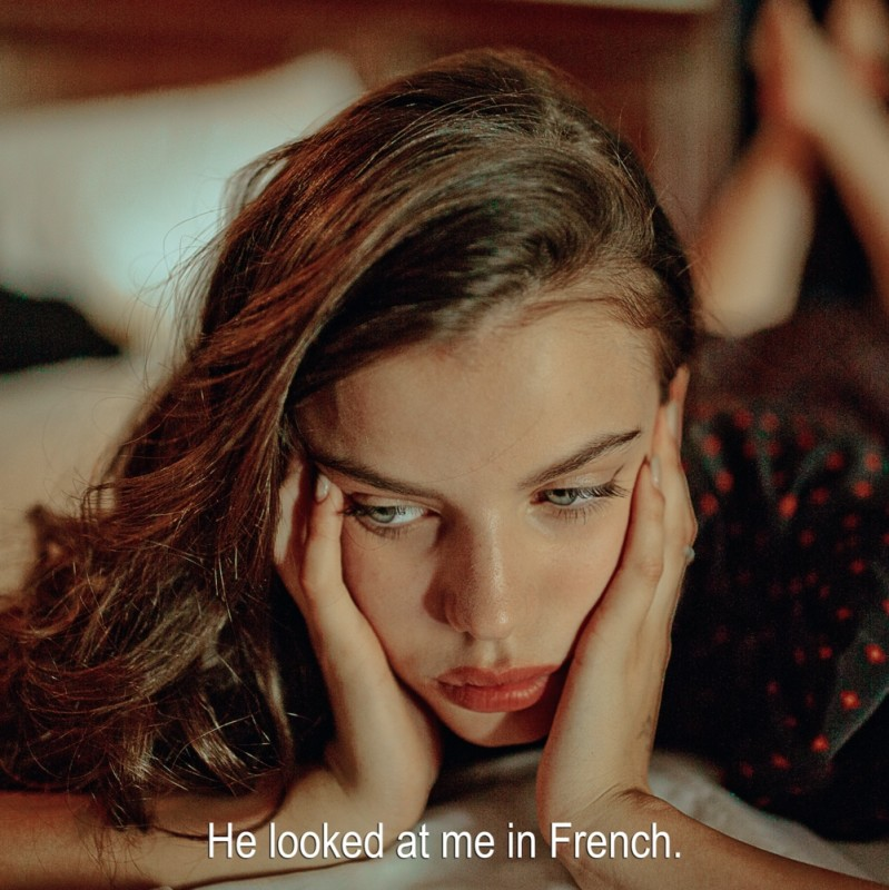 Sarah Bahbah, I Love You, Me Neither - French, 2018