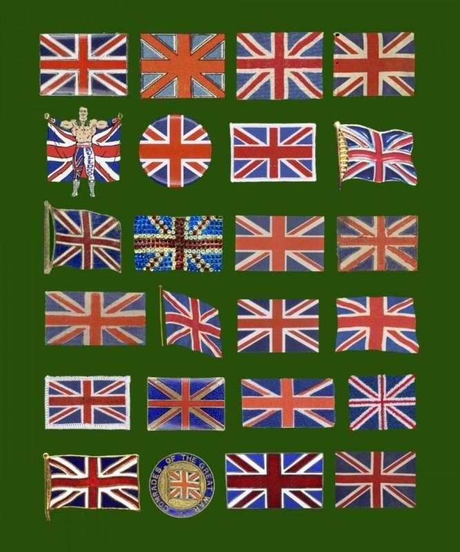 Peter Blake, Found Art: 24 Flags